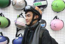 mũ bảo hiểm thời trang nam