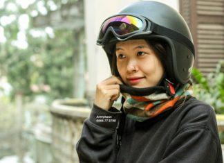 mũ bảo hiểm cho nữ đẹp