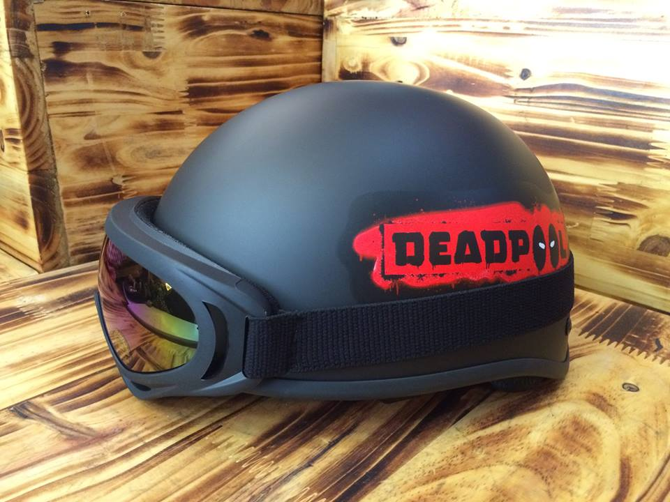 mũ nửa đầu deadpool