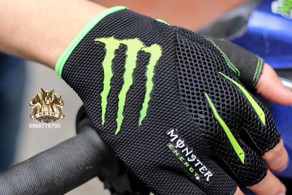 găng tay đi phượt monster