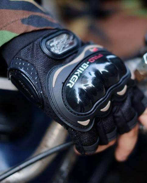 găng tay probiker đi phượt cụt ngón