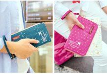 bóp đựng passport