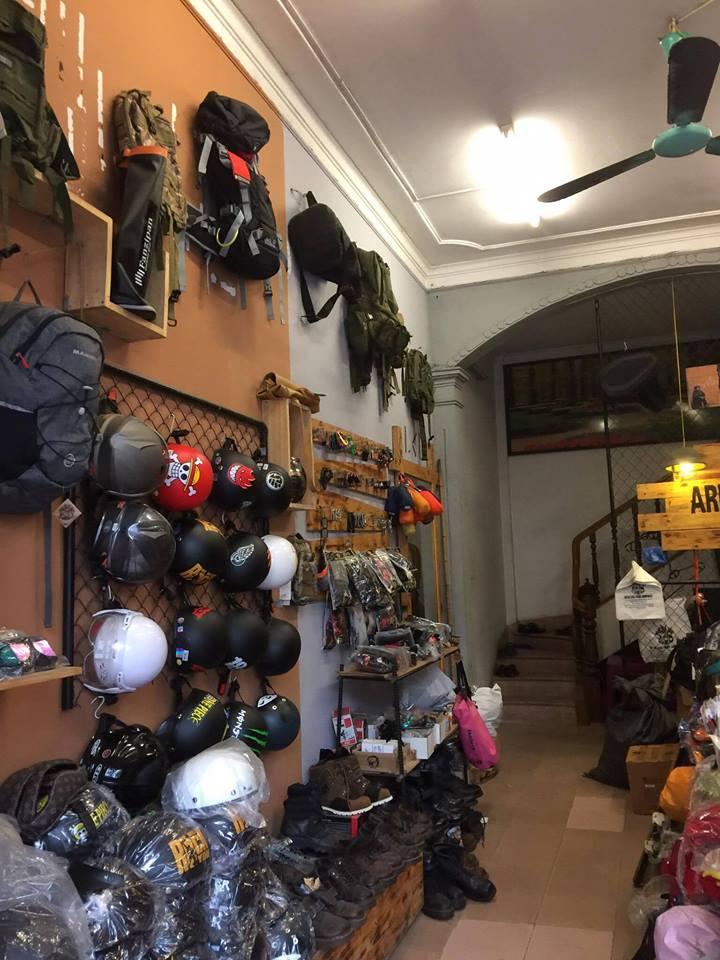 shop đồ du lịch armyhaus