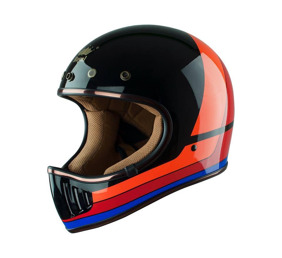 Mũ bảo hiểm fullface Royal M141 tem